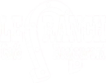 Logo blanc le ranch